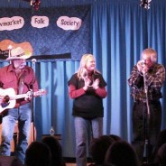 Teal and Joyce perform with the Good Brothers